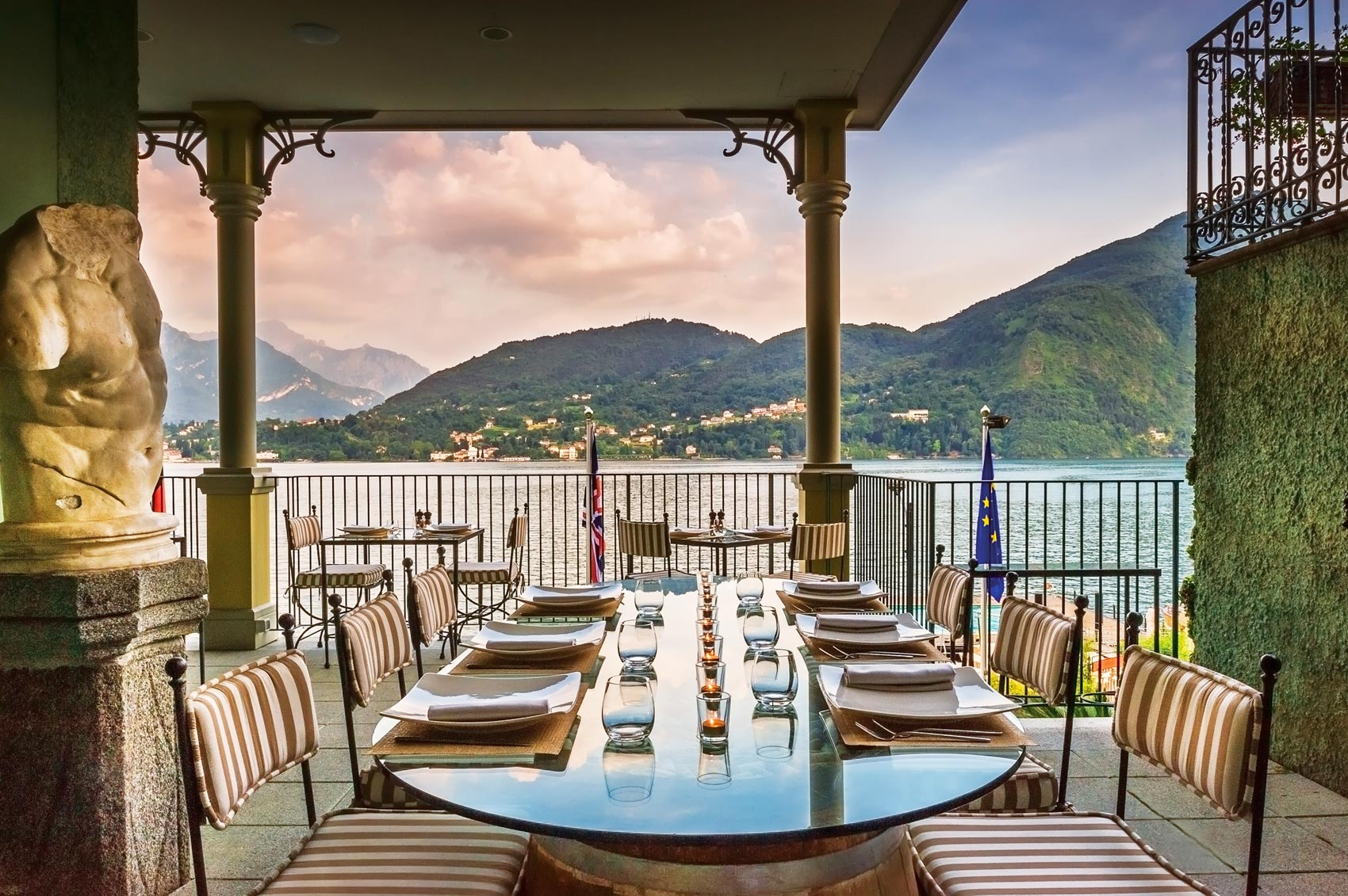 Head To Lake Como This Autumn And Give Your Eyes And Palette A Treat