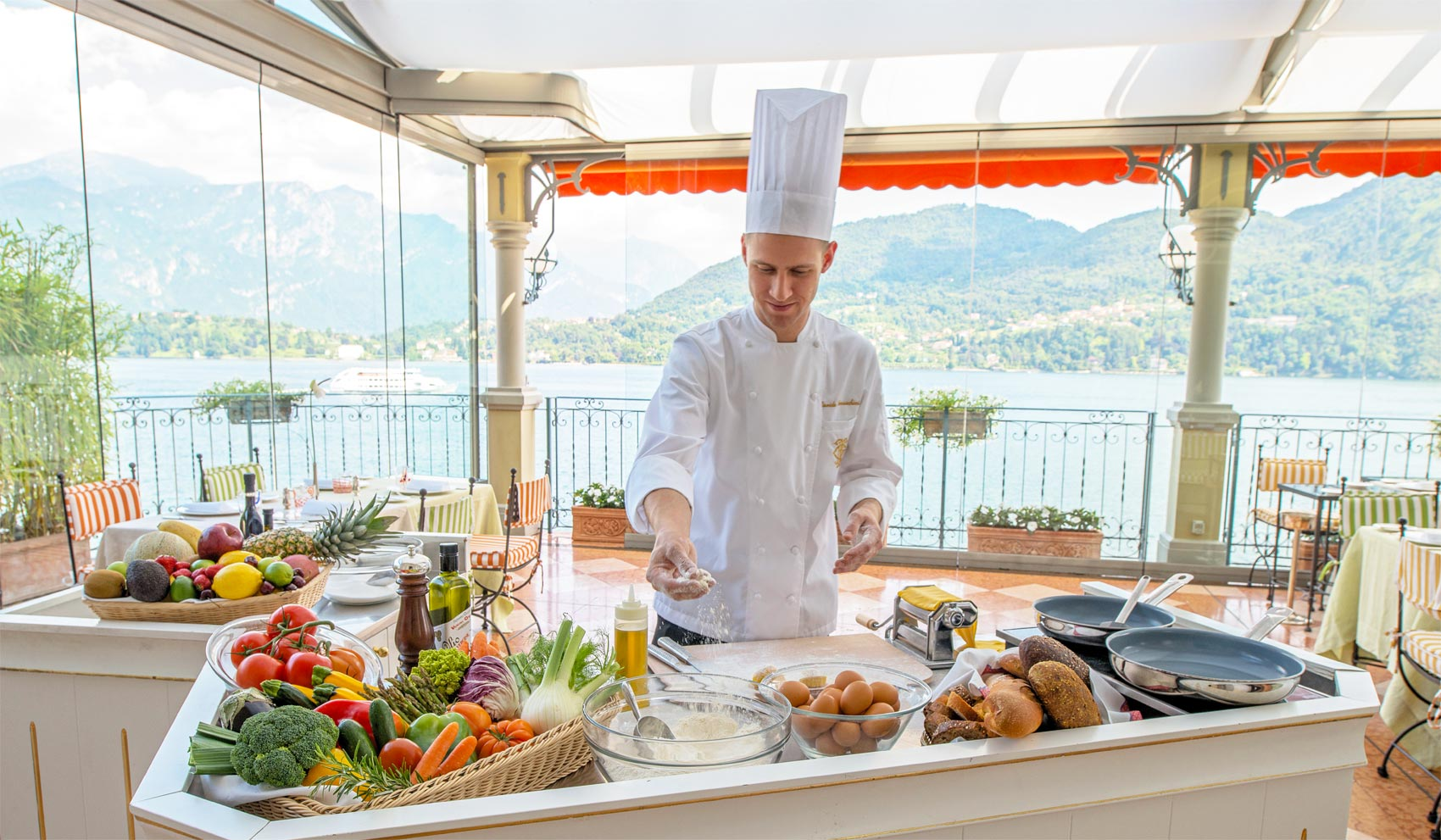 Head To Lake Como This Autumn And Give Your Eyes And Palate A Treat