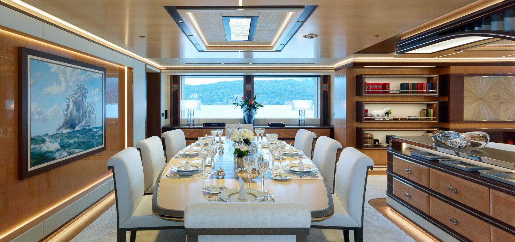 An Amazing Experience In The Côte d'Azur Aboard The Heesen Galactica Super Nova 8