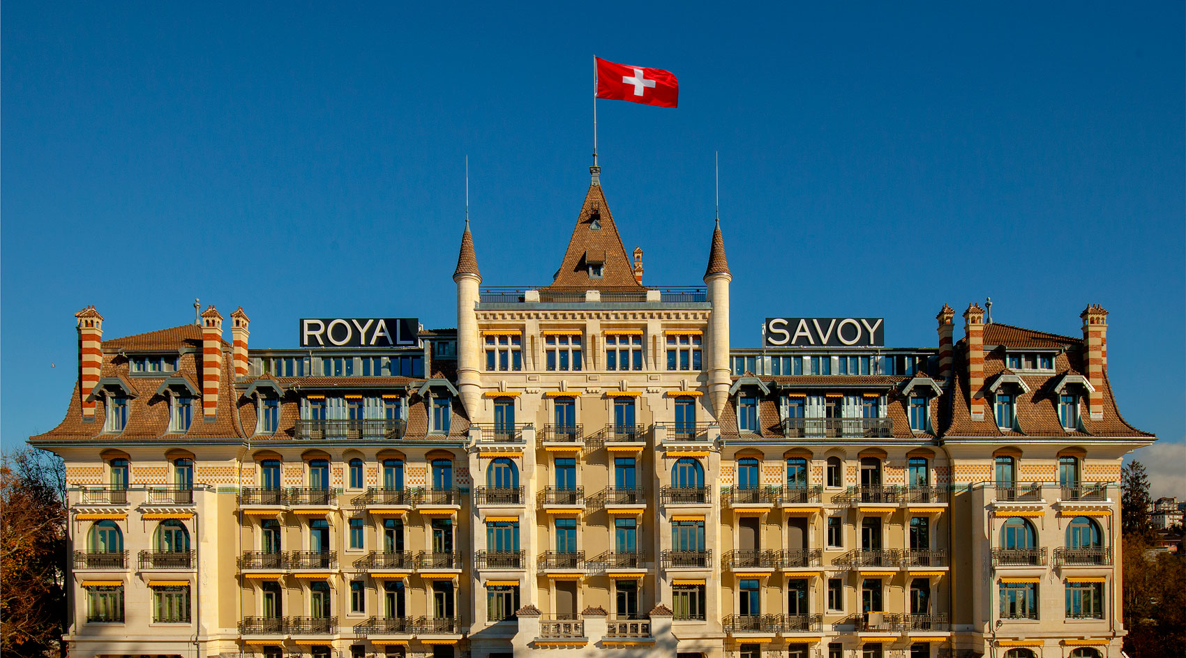 A Stylish and Sophisticated Retreat at the Hotel Royal Savoy, Lausanne
