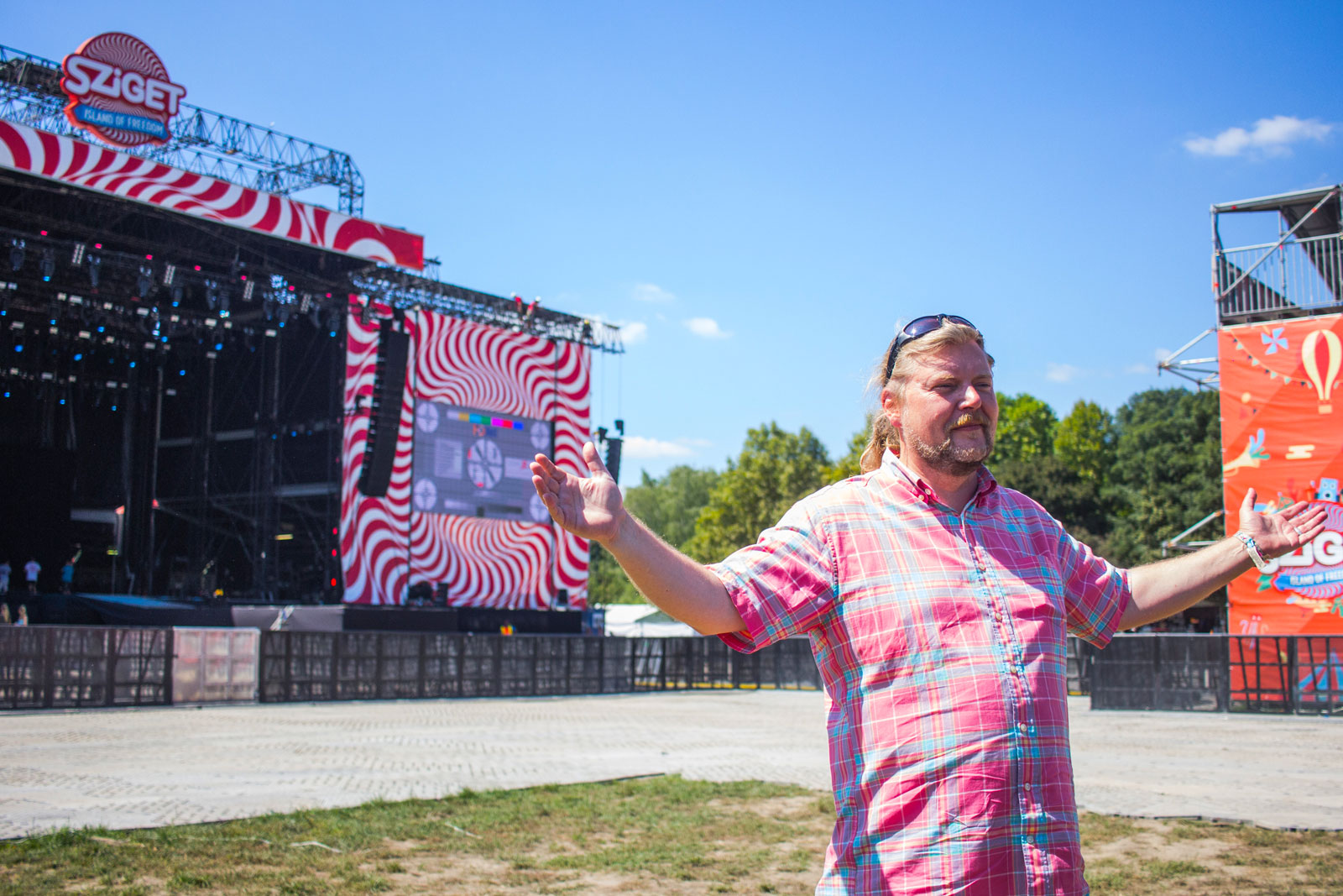Karoly Gerendai The Founder Of Sziget Festival