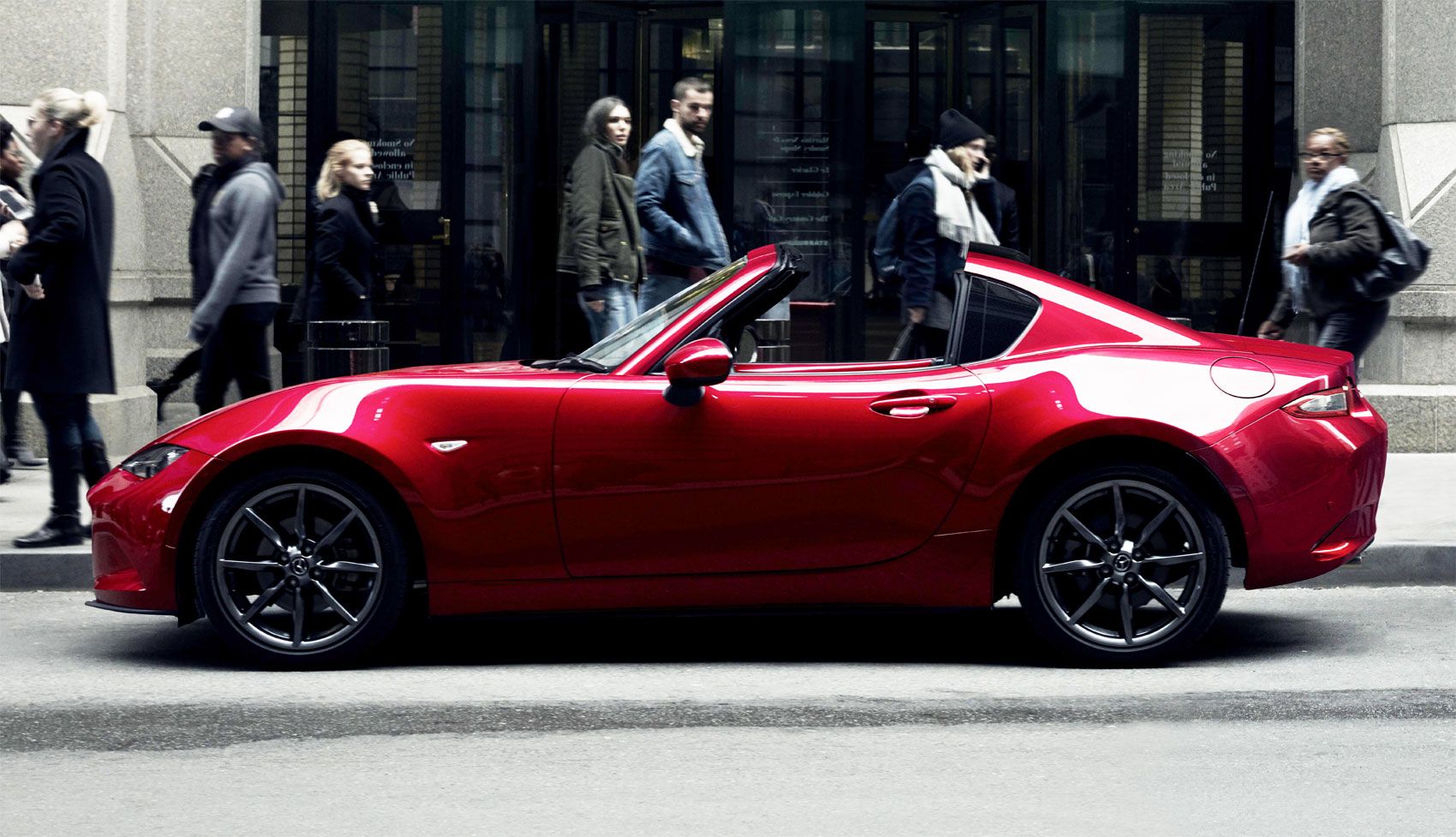 Mazda MX-5 RF Retractable Fastback Limited Production Launch Edition