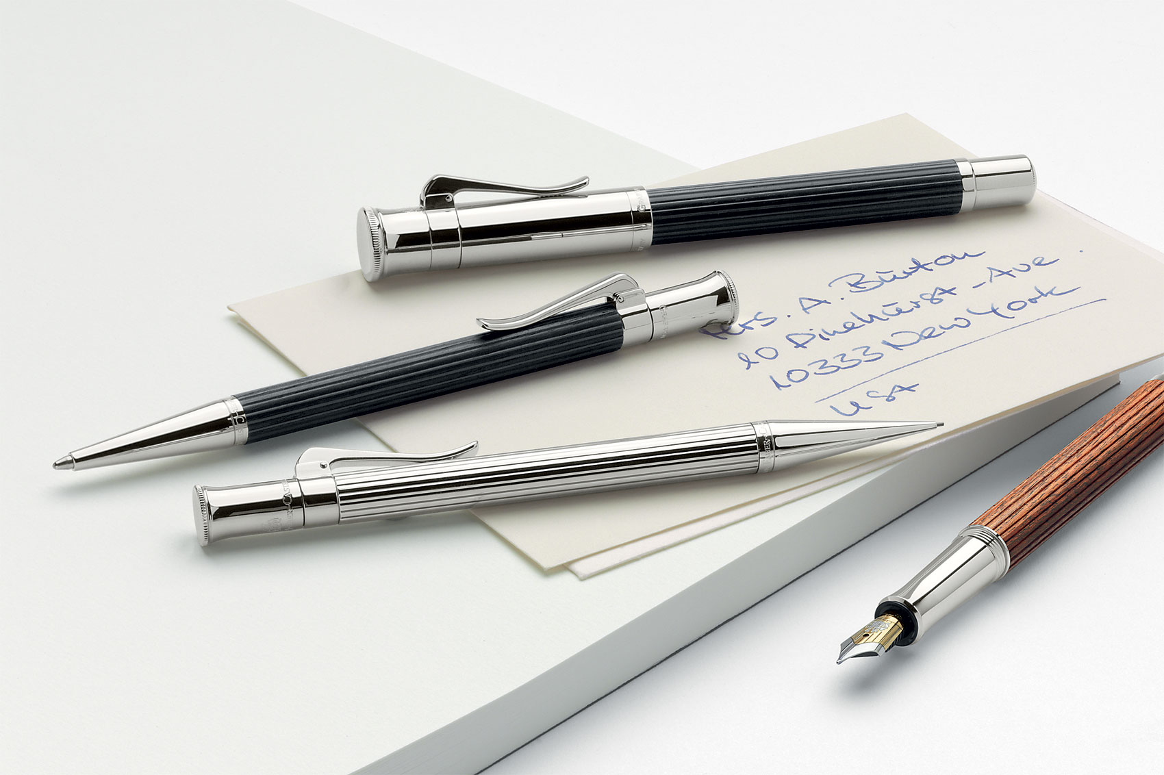 Henry McIntosh explores three heritage fountain pens, perfect for passing down the generations