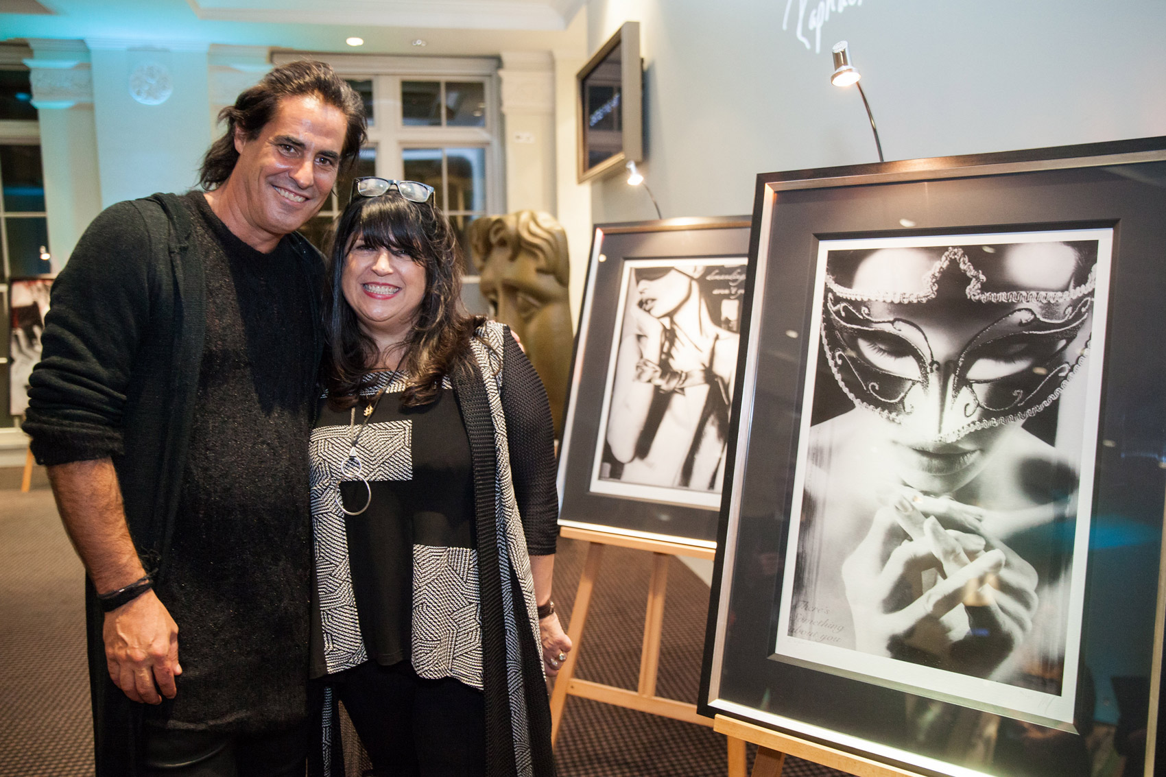 E. L. James The Author Of Fifty Shades Launches Art Collection in London