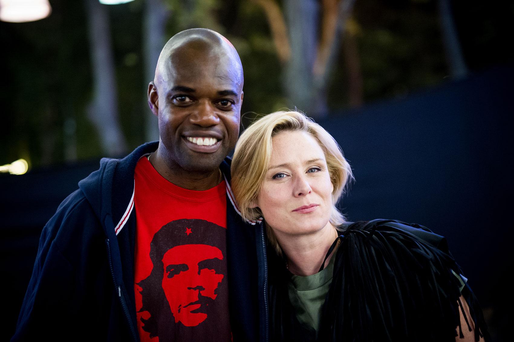Jamie Ndah and Roisin Murphy