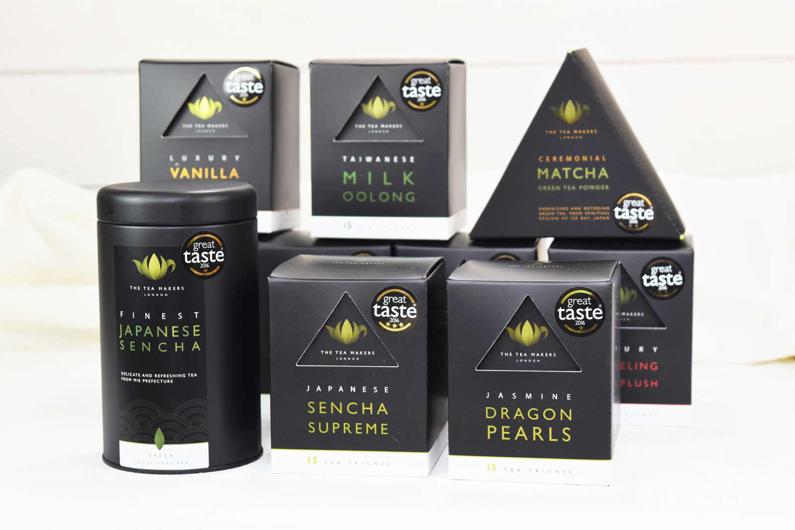Award winners from The Tea Makers of London