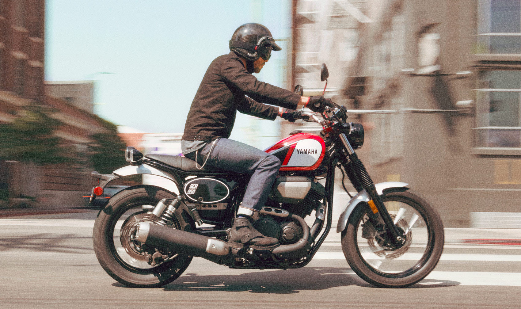 Yamaha Introduces Its Latest Sports Heritage Model – The V-Twin SCR950
