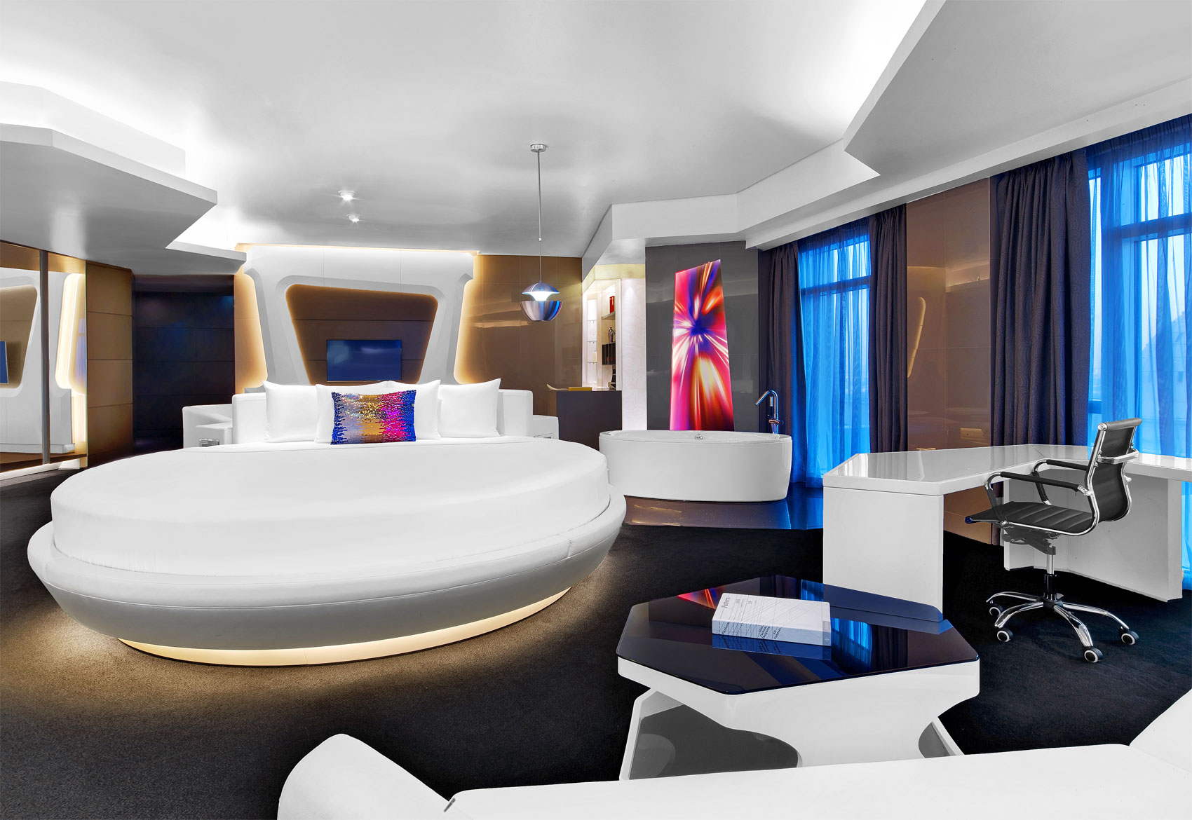 The Bold & Futuristic Hotel W Dubai Comes To Al Habtoor City