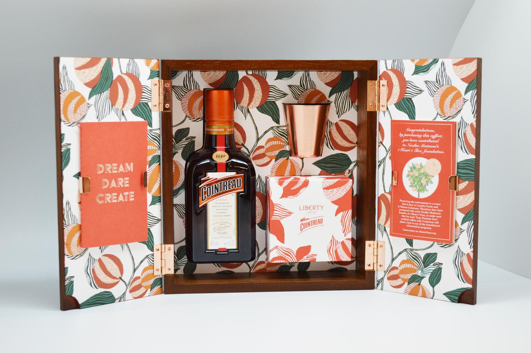 Cointreau Launch Limited Edition 'Your Parisian Zest Coffret' Gift Box
