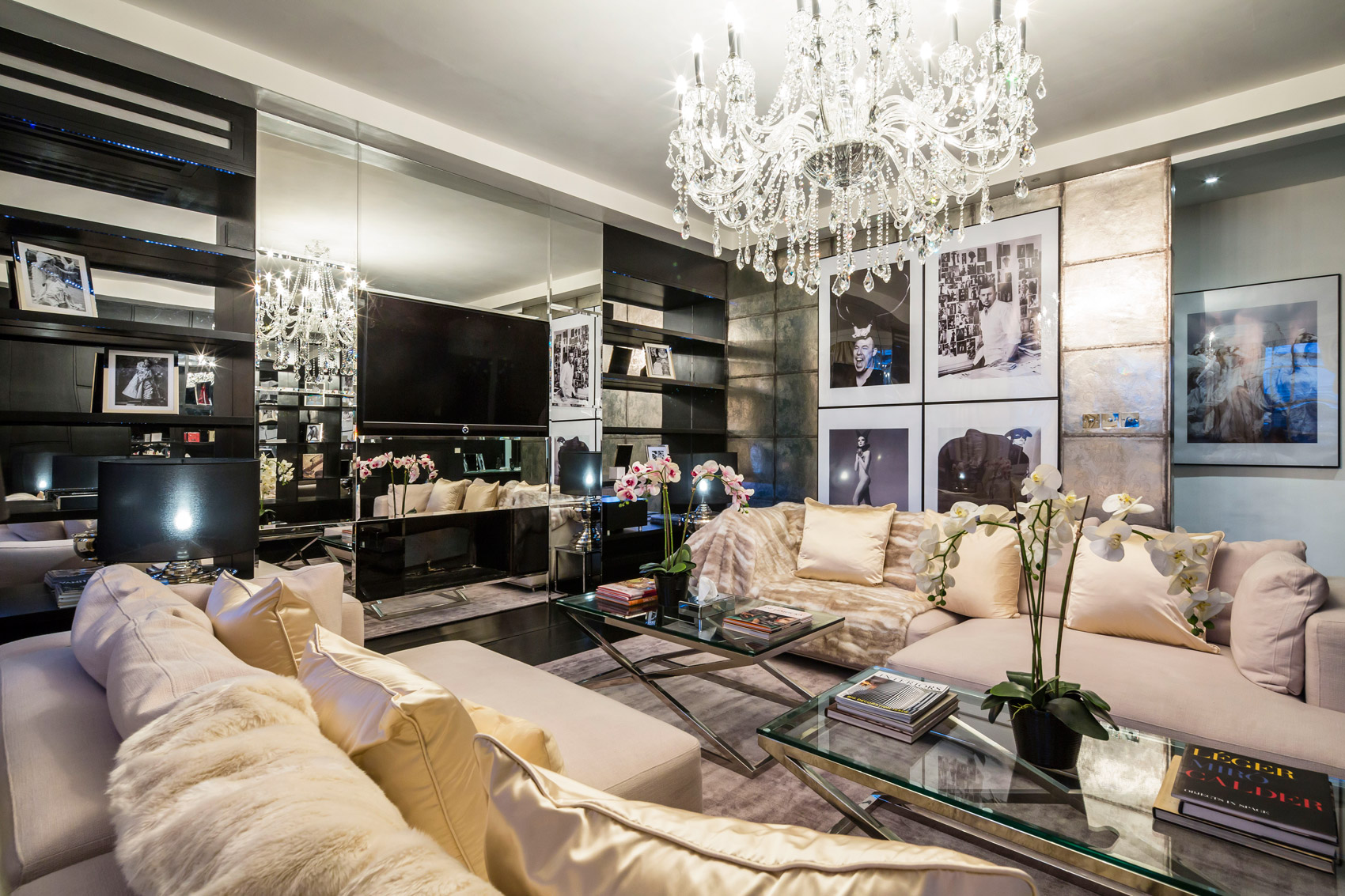 Alexander McQueen's Mayfair Pad for sale for £8.5m, provides Glam-Homage to his life & style
