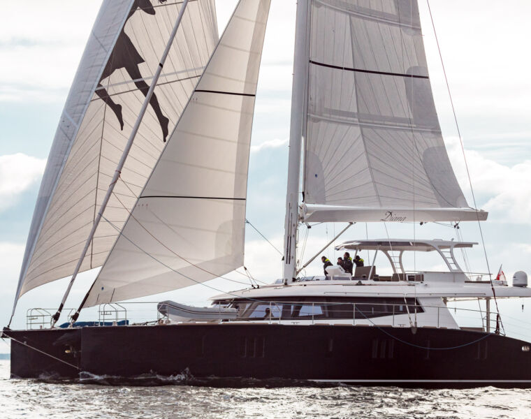 Sunreef Yachts Launches the First Carbon Sunreef 74 - Diana