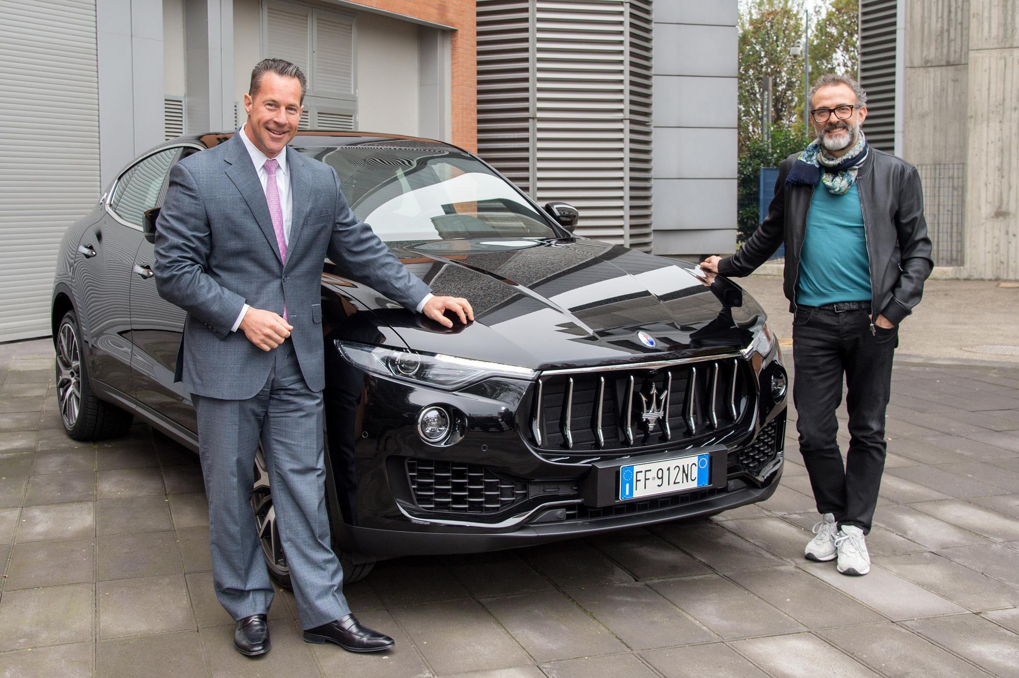 Chef Massimo Bottura Renews His Maserati Ambassadorship
