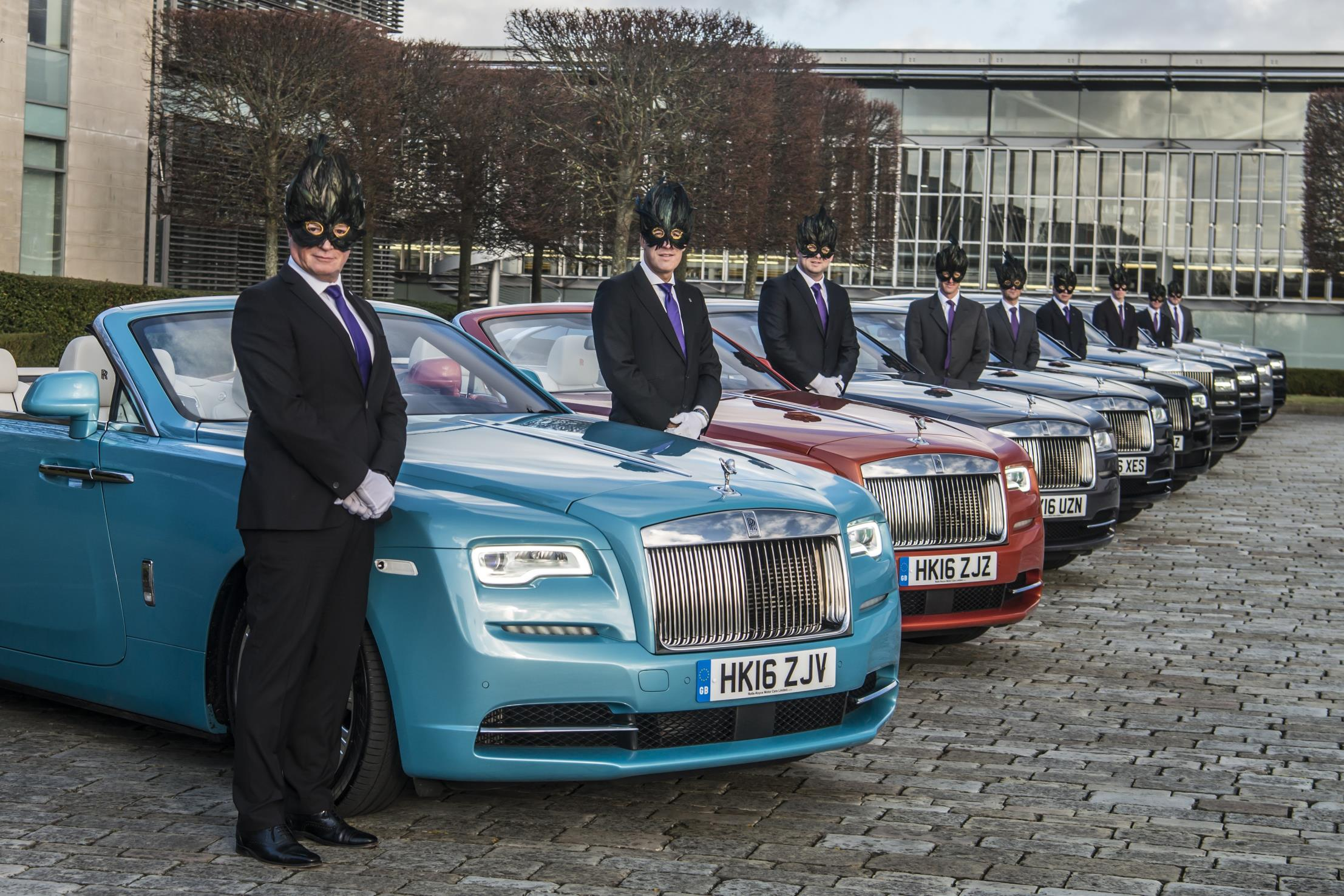Rolls-Royce Spirits Guests To The Elephant Family's Animal Ball
