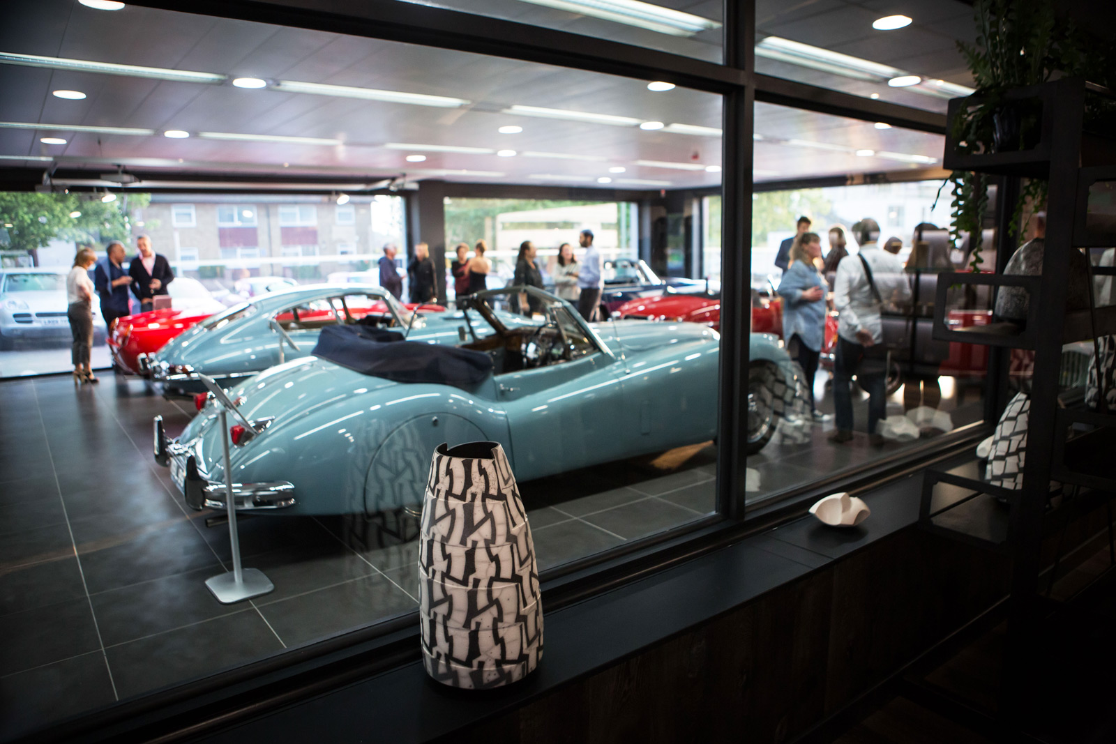 Hexagon Classics Is A Showcase For Vintage Cars And Art
