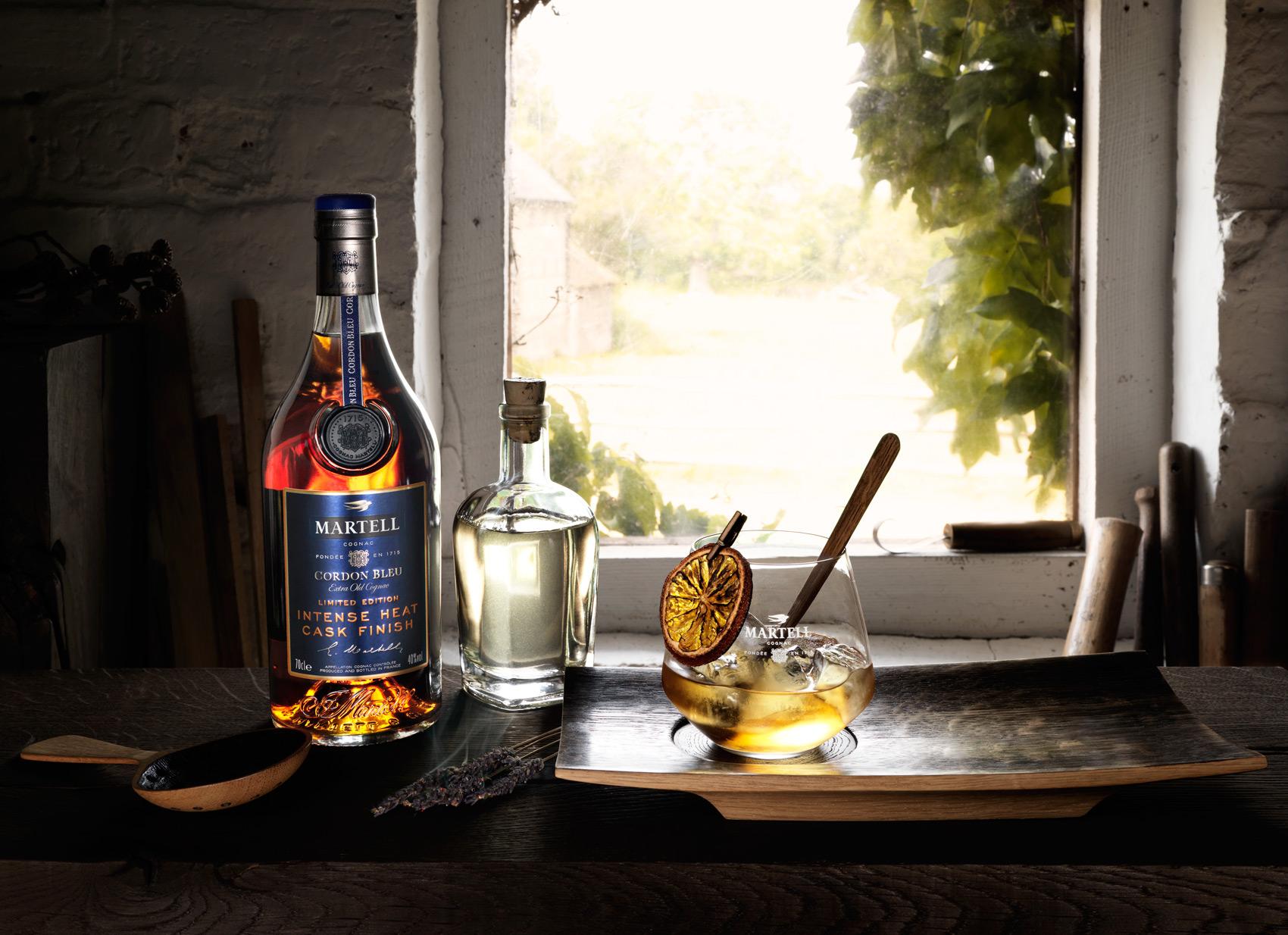 Martell Fires Up Cognac With Launch Of Cordon Bleu Intense Heat
