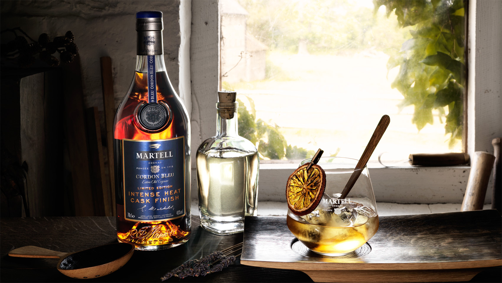 Martell Fires Up Cognac With Launch Of Cordon Bleu Intense Heat