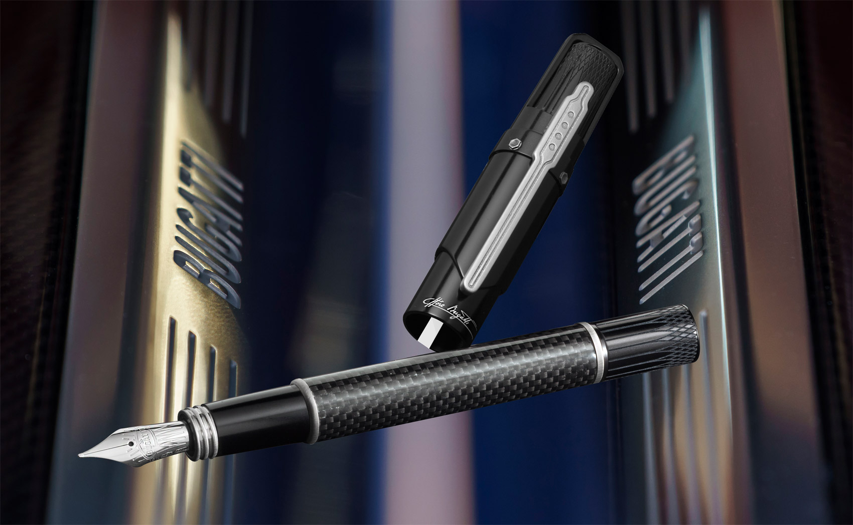 Italian Pen Manufacturers Montegrappa Unveils Its Bugatti Chiron Collection