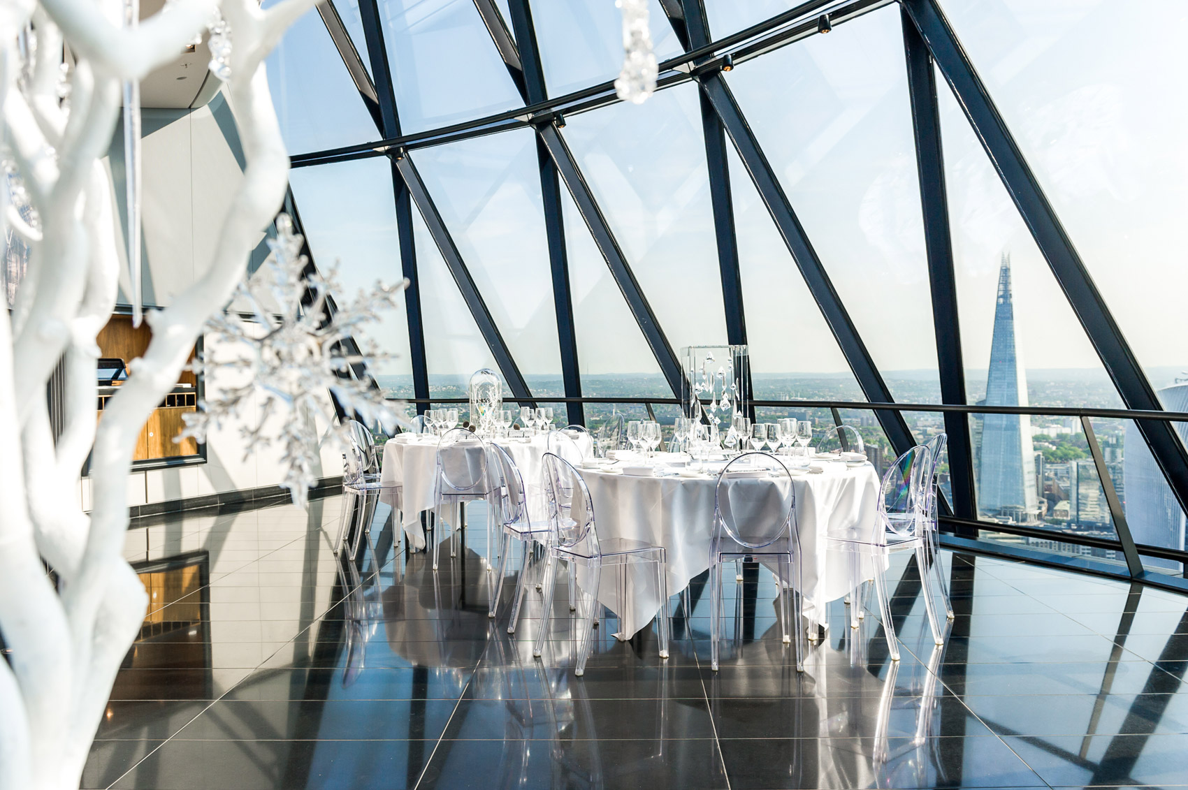 Searcys In The Sky With Diamonds' Adds Festive Sparkle To The City 5