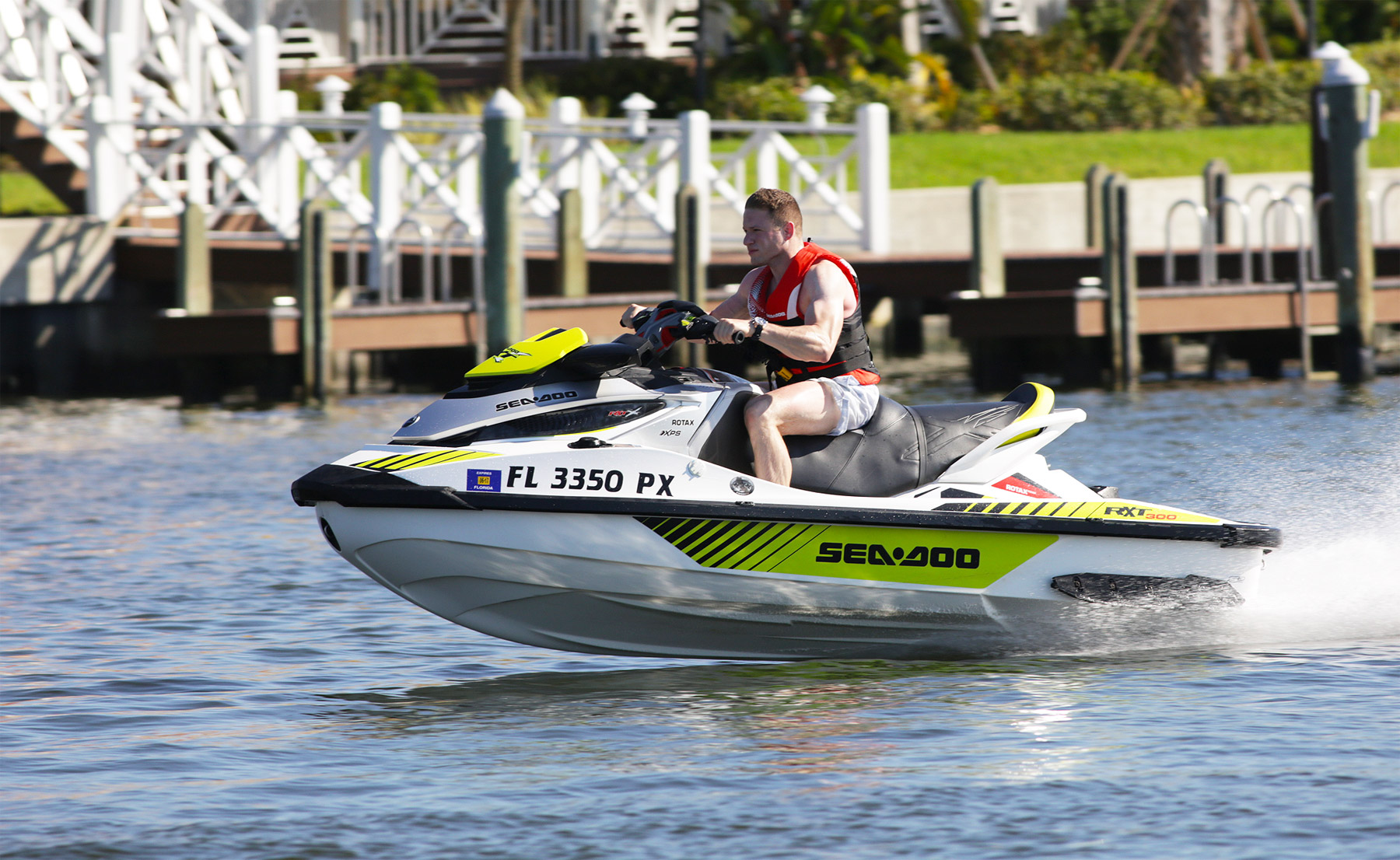 Stefano Andrean Heads To Florida To Experience The 2017 Seadoo Line-up