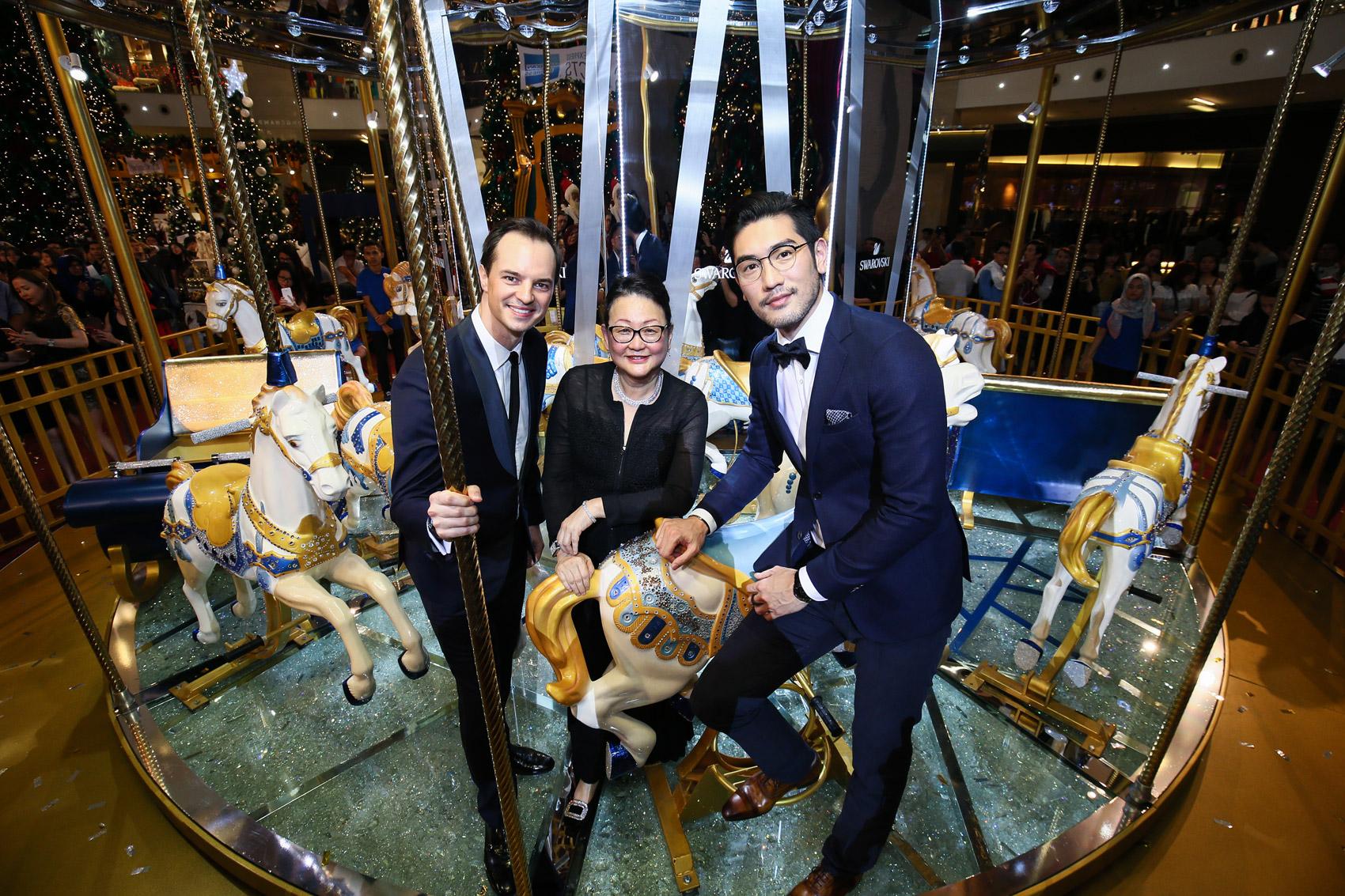 Swarovski Introduces The World's First Crystallised Merry-Go-Round