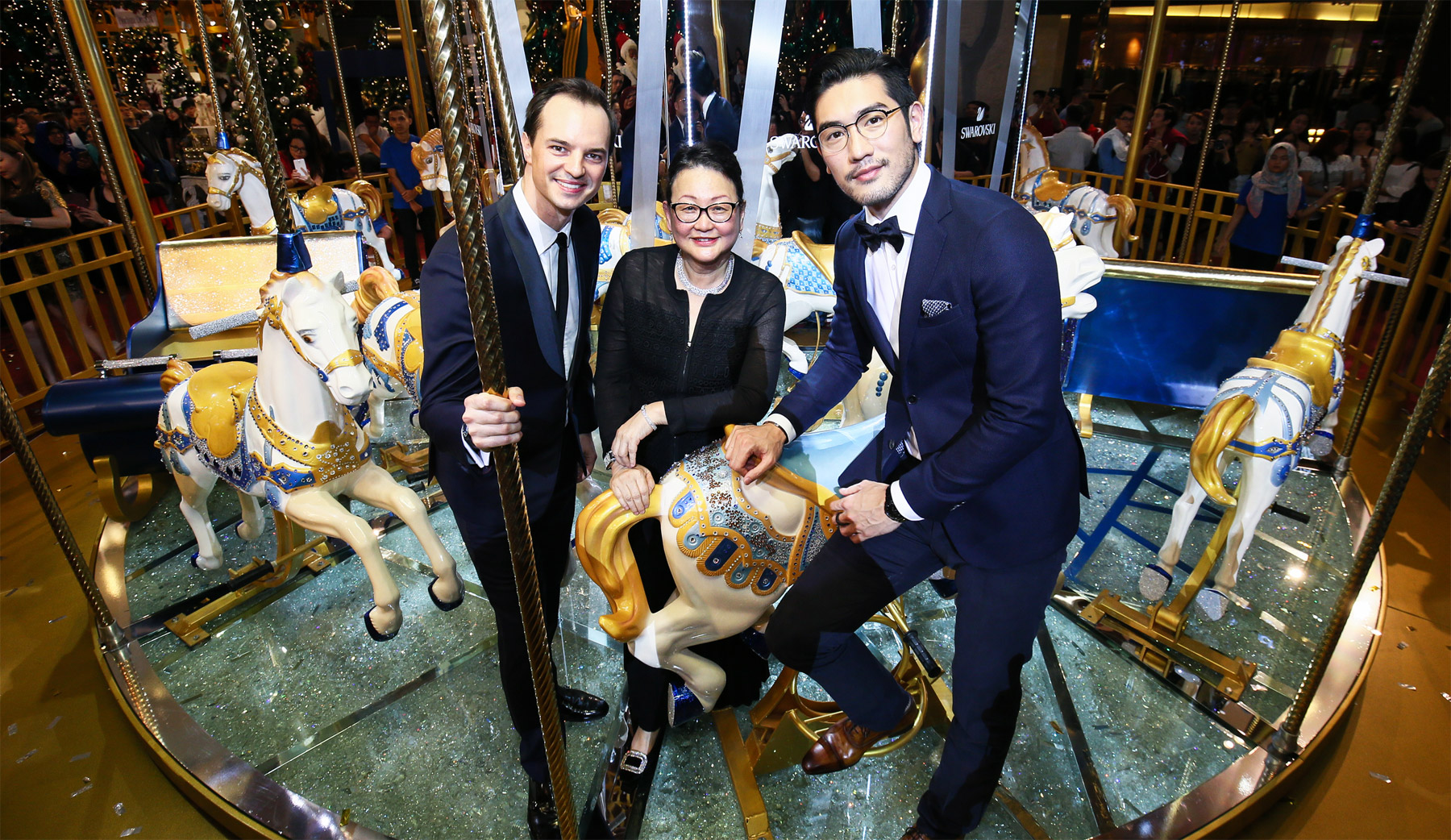 Swarovski Introduces The World's First Crystallised Merry-Go-Round