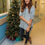 Made in Chelsea's Binky Felstead Visits Young Patients At Royal Brompton Hospital 5