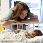 Made in Chelsea's Binky Felstead Visits Young Patients At Royal Brompton Hospital 6