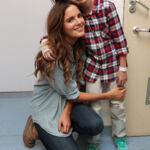 Made in Chelsea's Binky Felstead Visits Young Patients At Royal Brompton Hospital 9