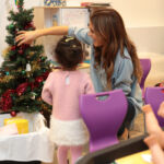 Made in Chelsea's Binky Felstead Visits Young Patients At Royal Brompton Hospital 10