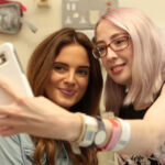 Made in Chelsea's Binky Felstead Visits Young Patients At Royal Brompton Hospital 11