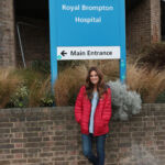 Made in Chelsea's Binky Felstead Visits Young Patients At Royal Brompton Hospital 12