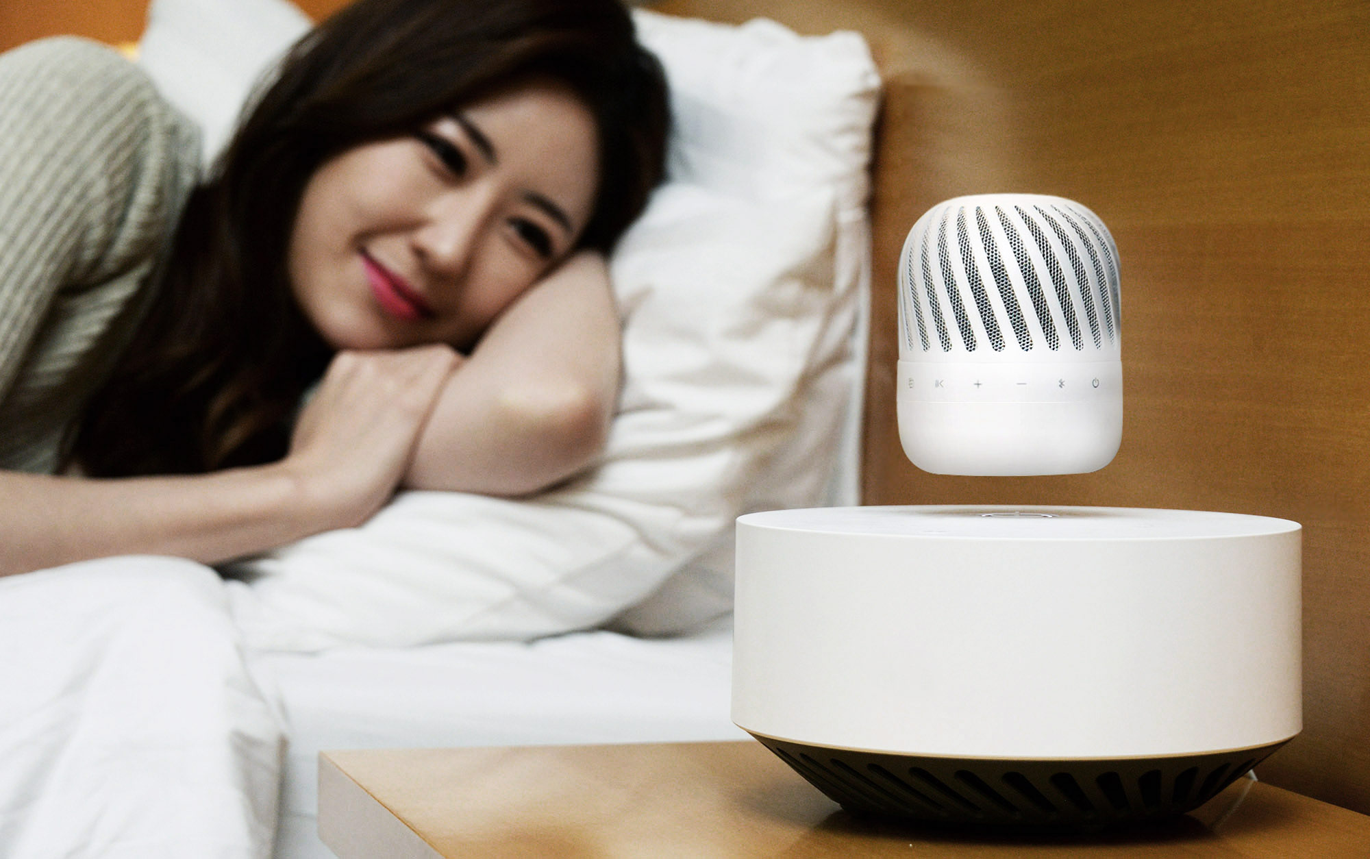 LG Takes Portable Speaker Tech To New Heights With Levitating PJ9