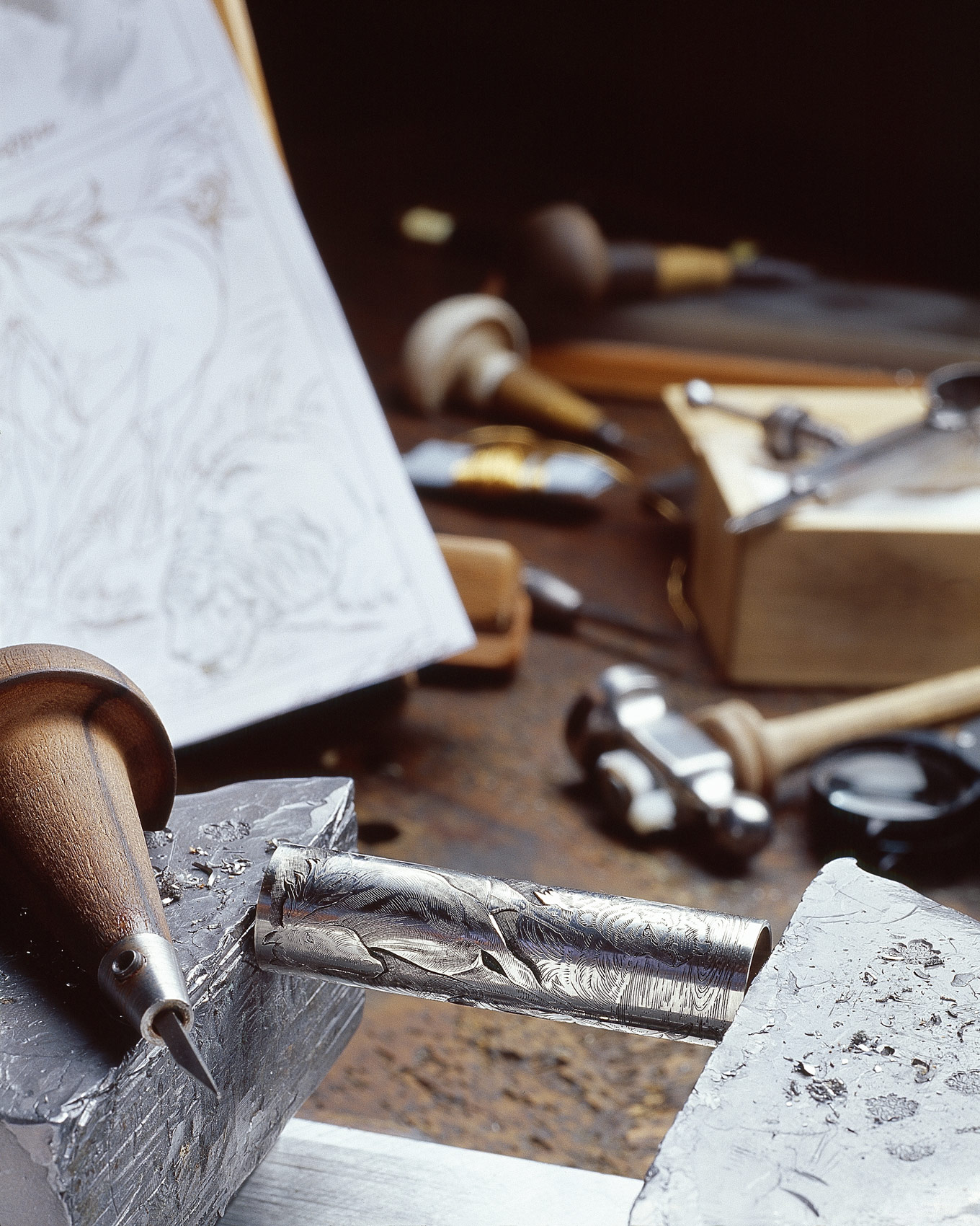 Central House Of Writers In Moscow Plays Host To Montegrappa 2