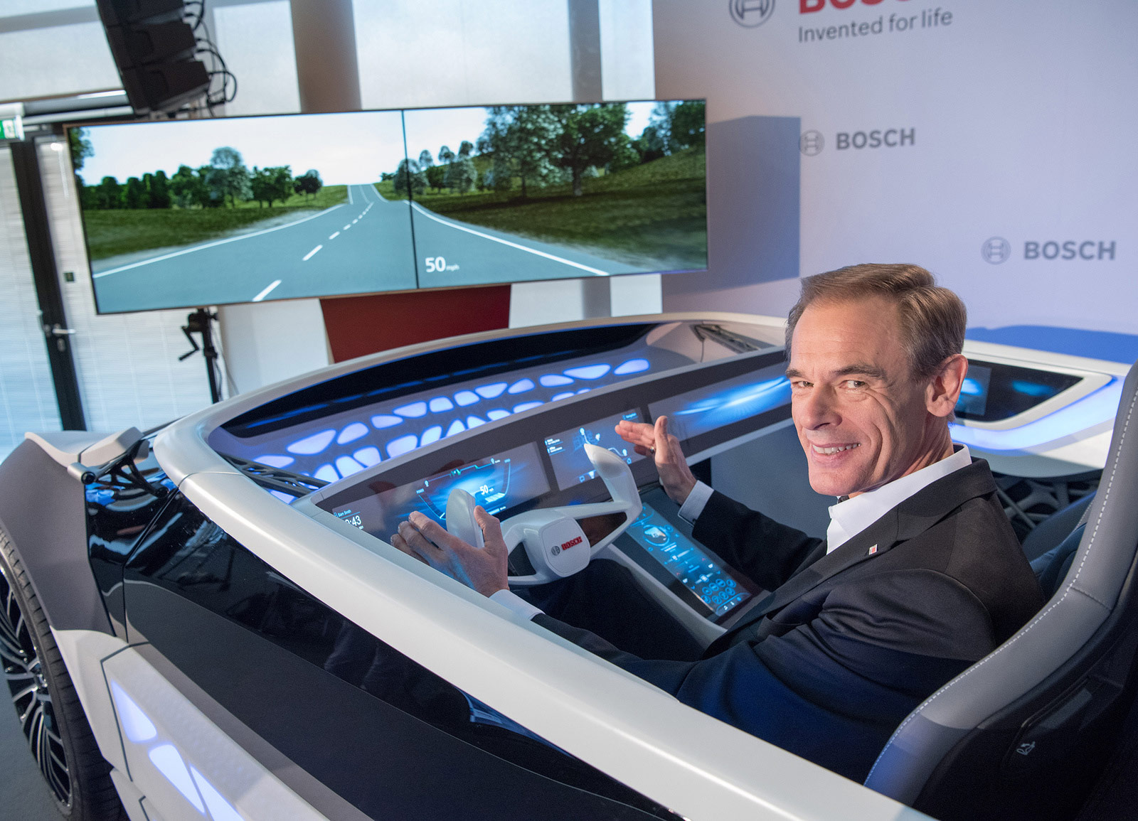 """Bosch CEO Denner states """"The car as we know it will soon be history"""""""