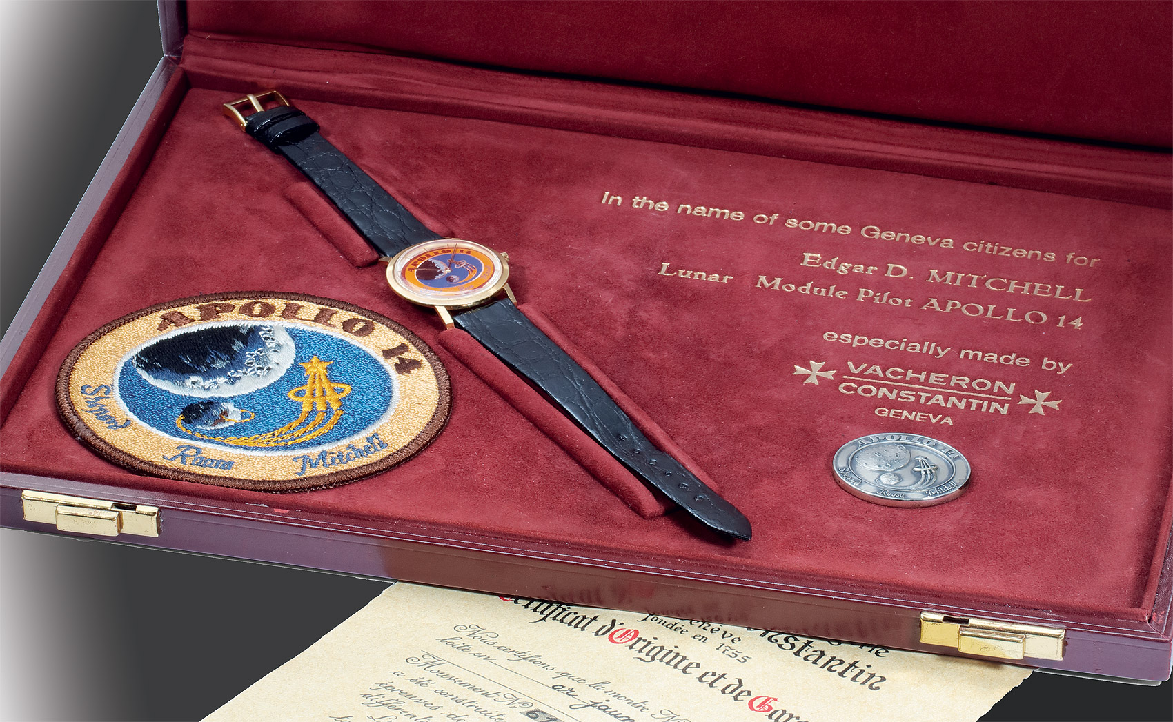 The Mysterious Vacheron Constantin Apollo 14 for Edgar Mitchell timepiece