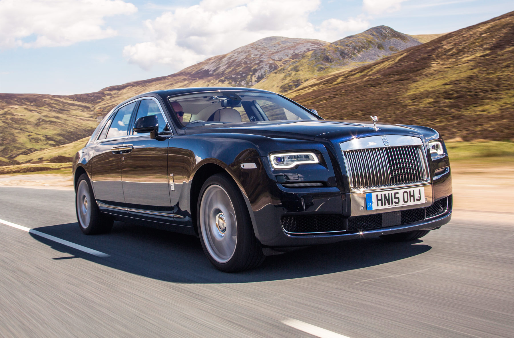 The Rolls Royce Ghost Extended Wheelbase Is Named Best Super Luxury Car By