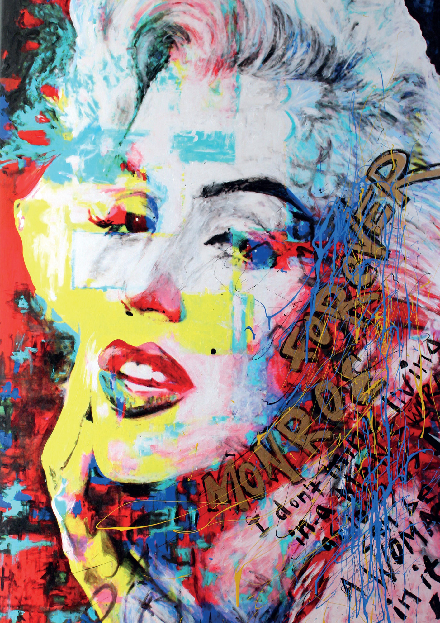 Marilyn Monroe by Philipp Chrome