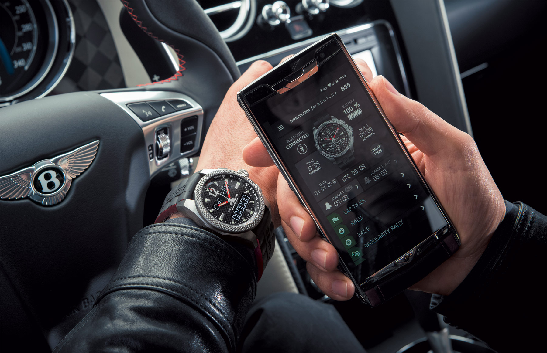 Breitling For Bentley Supersports B55 Limited Edition Chronograph