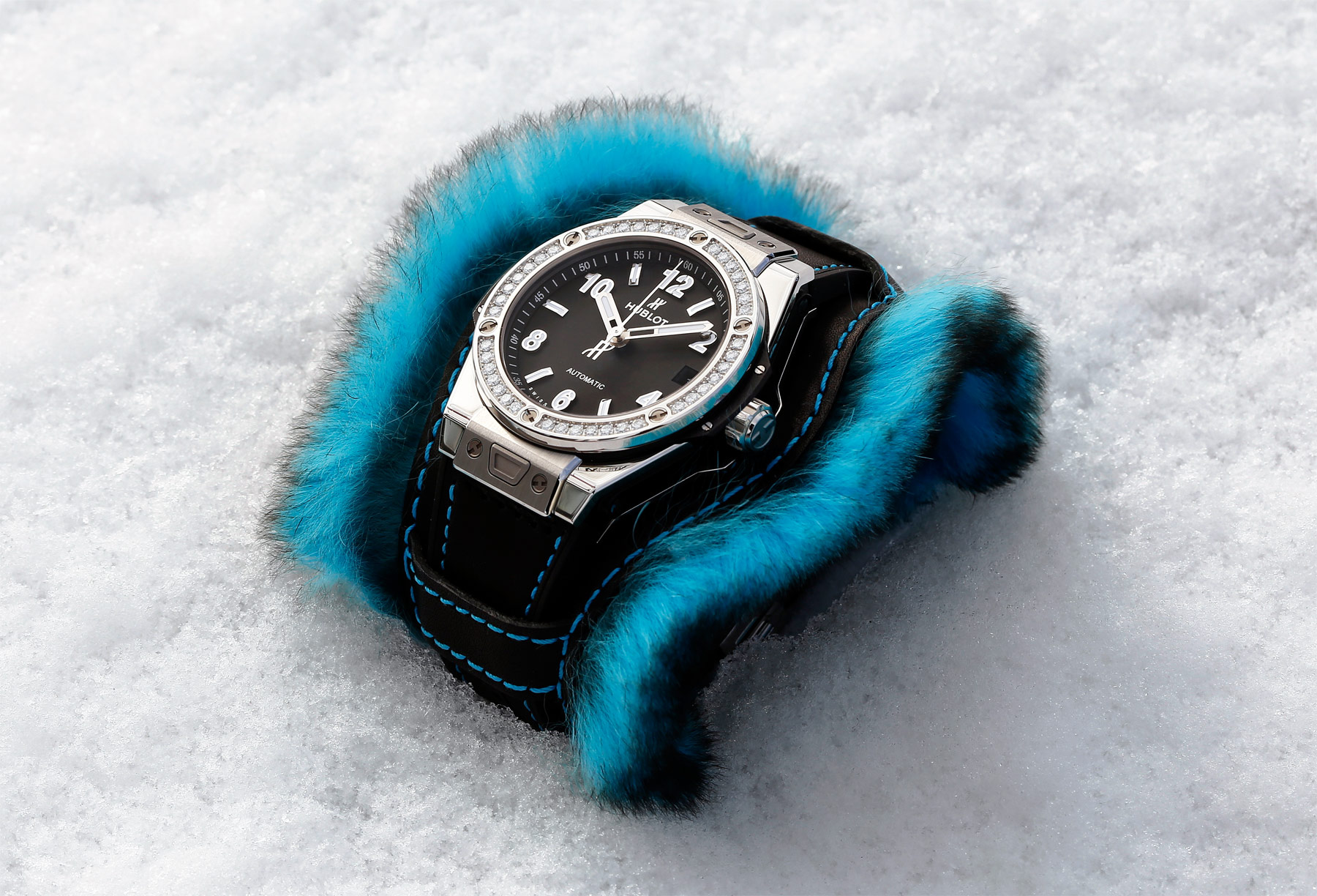 Hublot Goes 'Fluffy' With The Big Bang One Click Cuddly Cuff Collection
