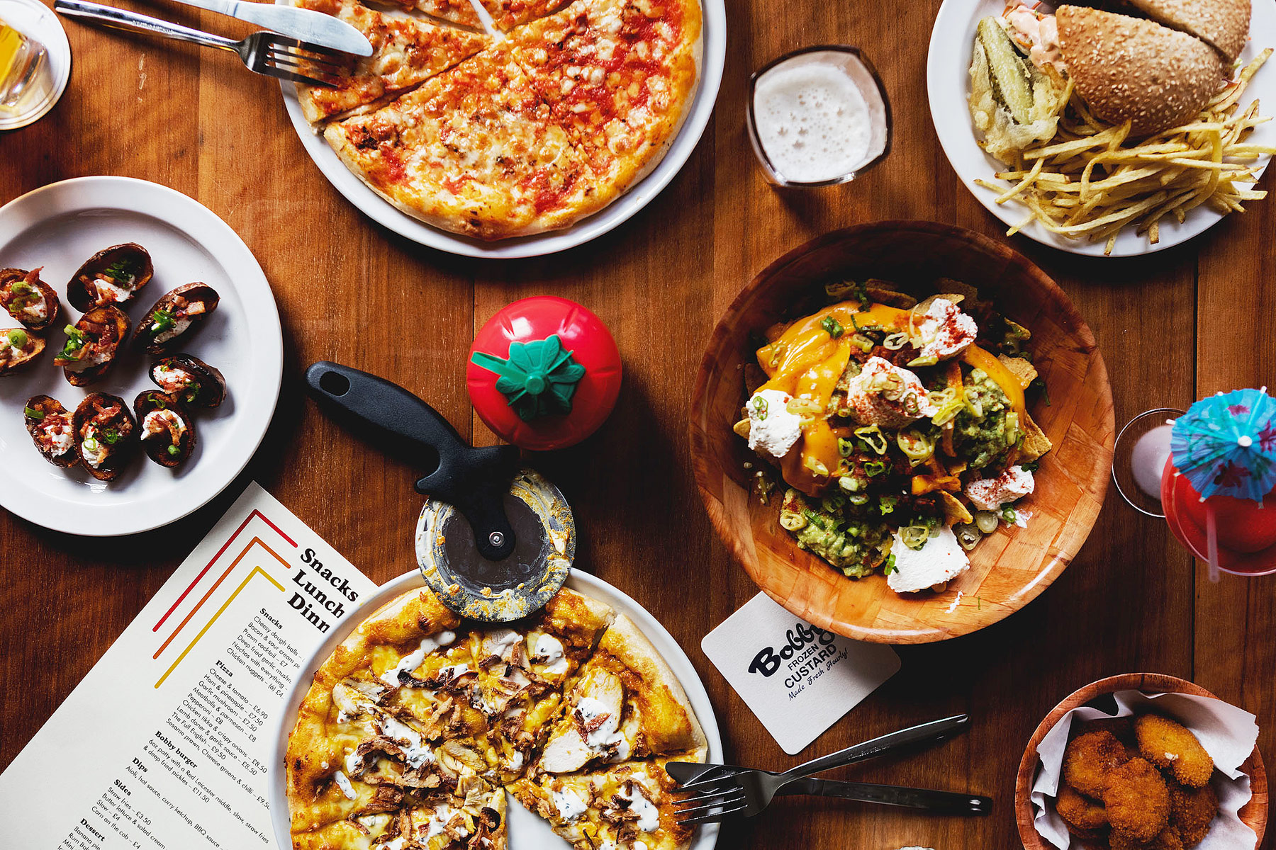 Yeah Baby! Pizza, Rum & Cocktail Bar Bobby Fitzpatrick Opens Its Doors