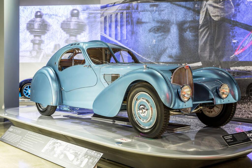 A 1936 Bugatti Type 57SC Atlantic Wins Best Of Show In Arizona