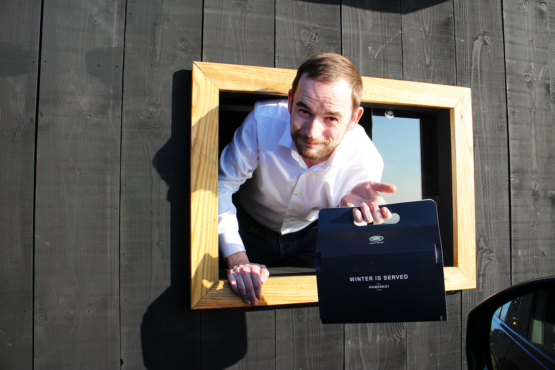 Land Rover & Chef Simon Rogan Create World's First Luxury Drive-Through