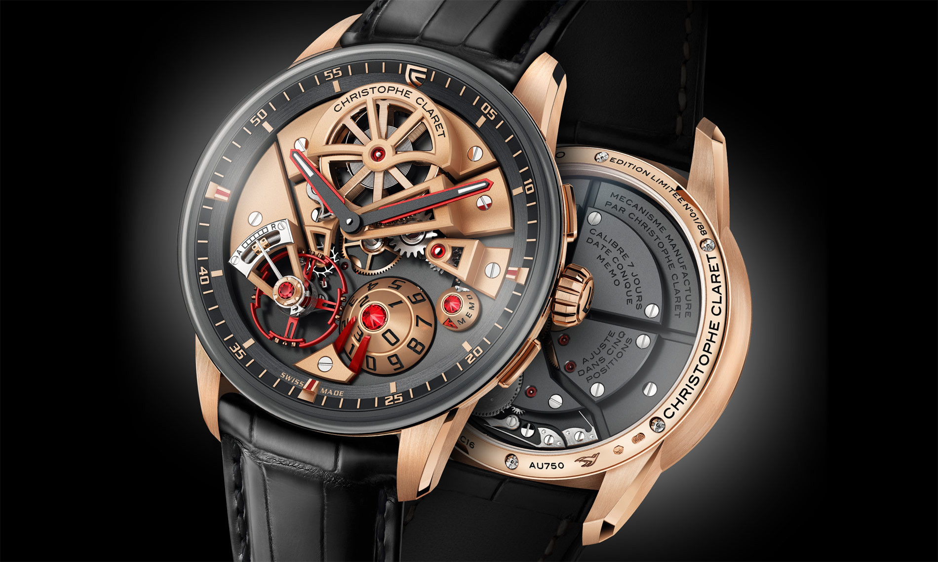 Christophe Claret's Maestro – A New Perspective On Mechanical Art