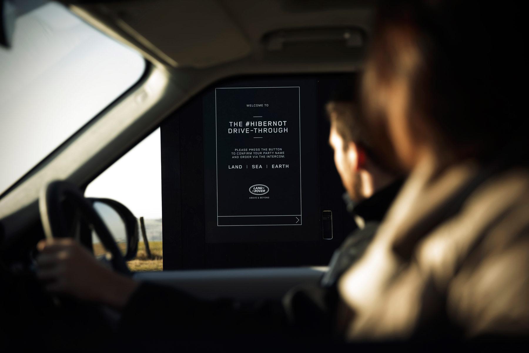 Land Rover & Chef Simon Rogan Create World's First Luxury Drive-Through 2
