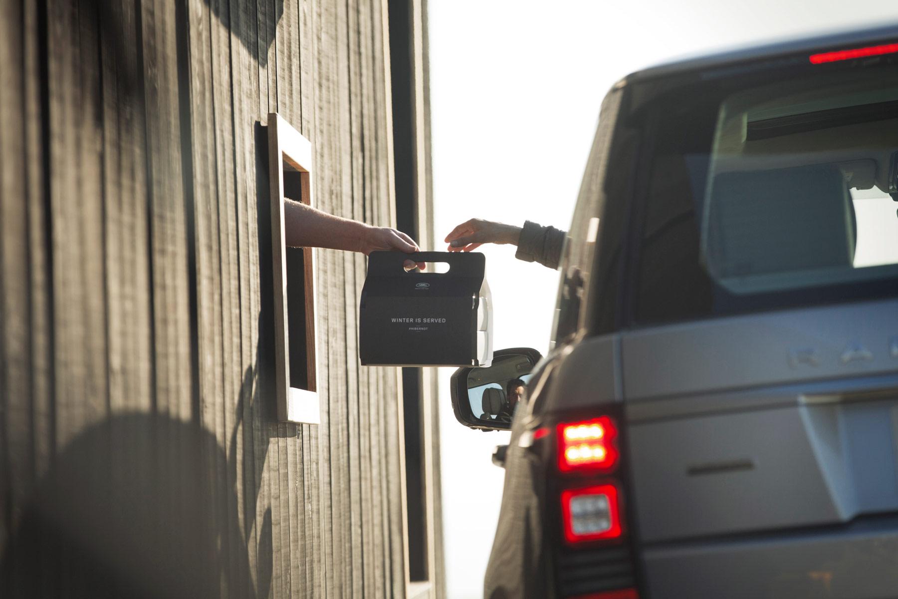 Land Rover & Chef Simon Rogan Create World's First Luxury Drive-Through 6