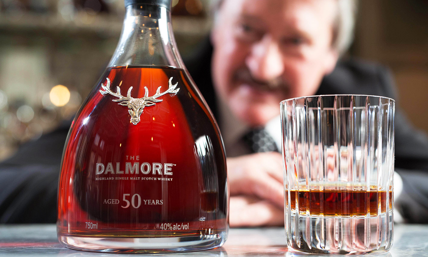Dalmore Celebrate Richard Paterson's 50th Year With Special Single Malt
