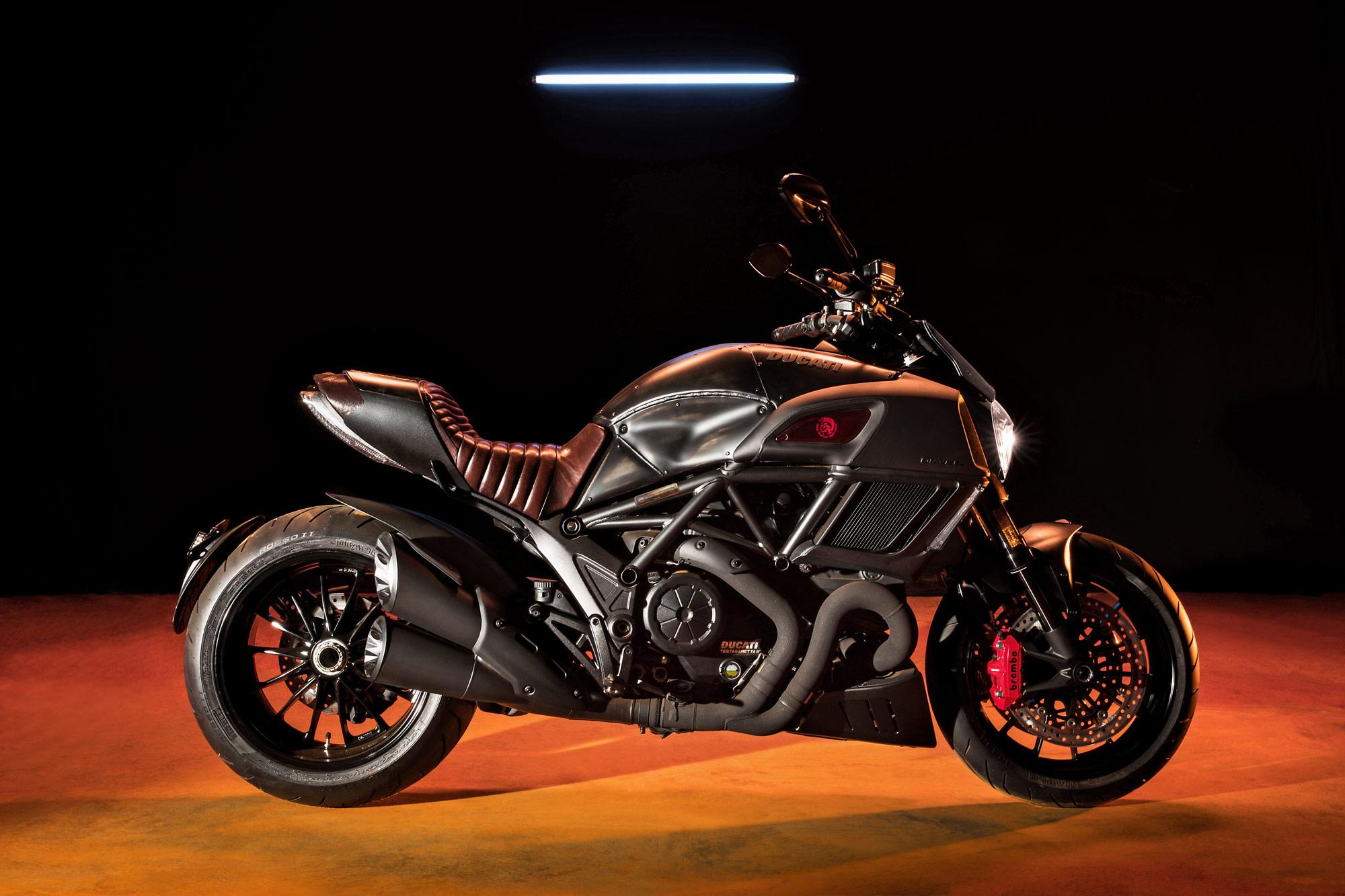 The Ducati Diavel Diesel - 'Bellezza' On Two Wheels