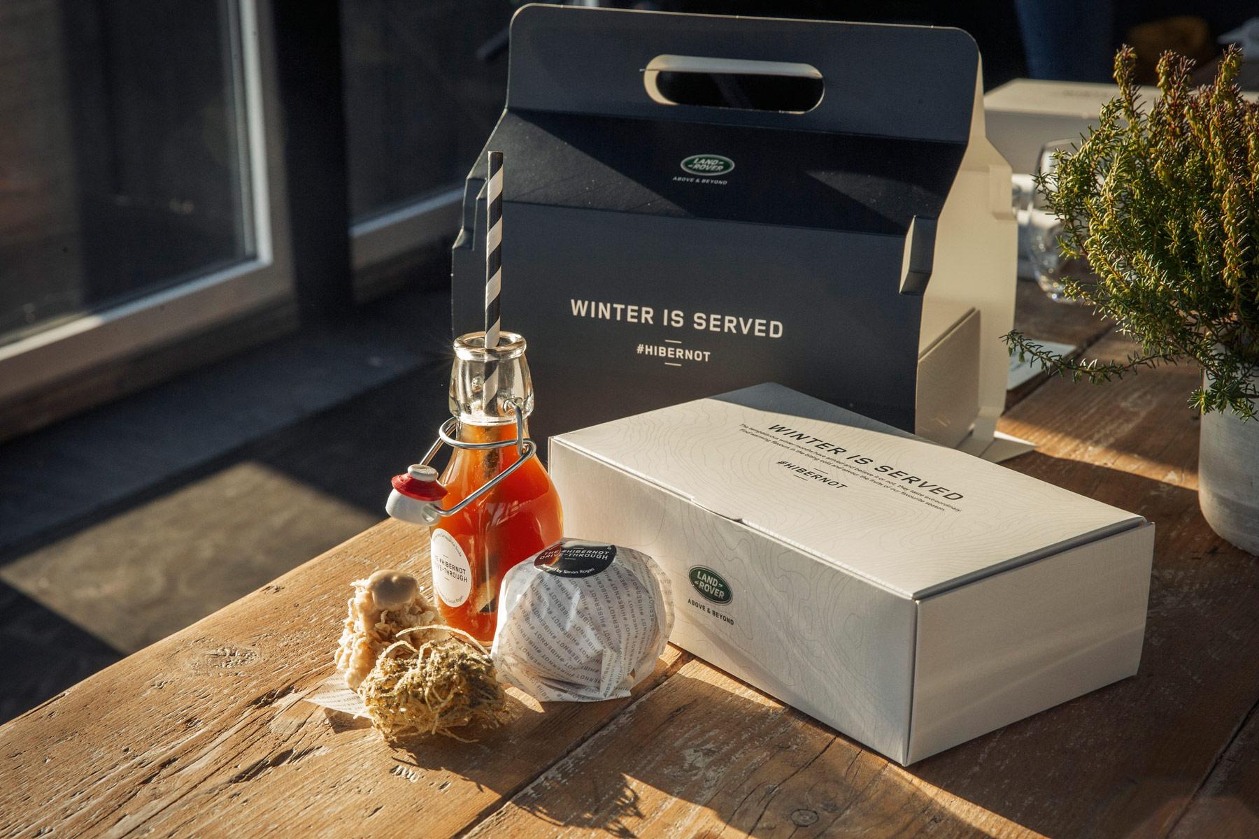 Land Rover & Chef Simon Rogan Create World's First Luxury Drive-Through 7
