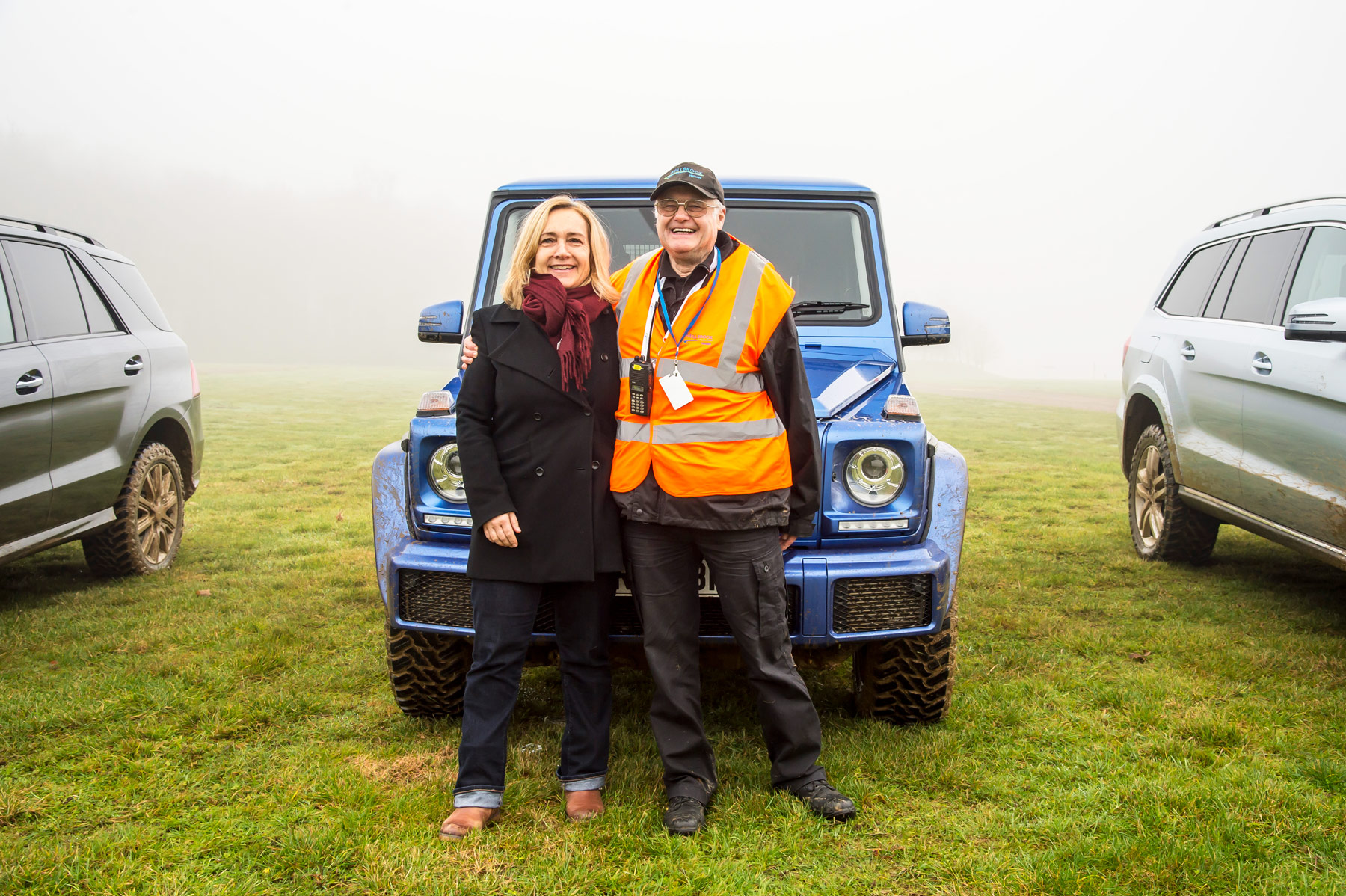 Mercedes-Benz SUV G Class Off-Road Test At Millbrook Proving Ground