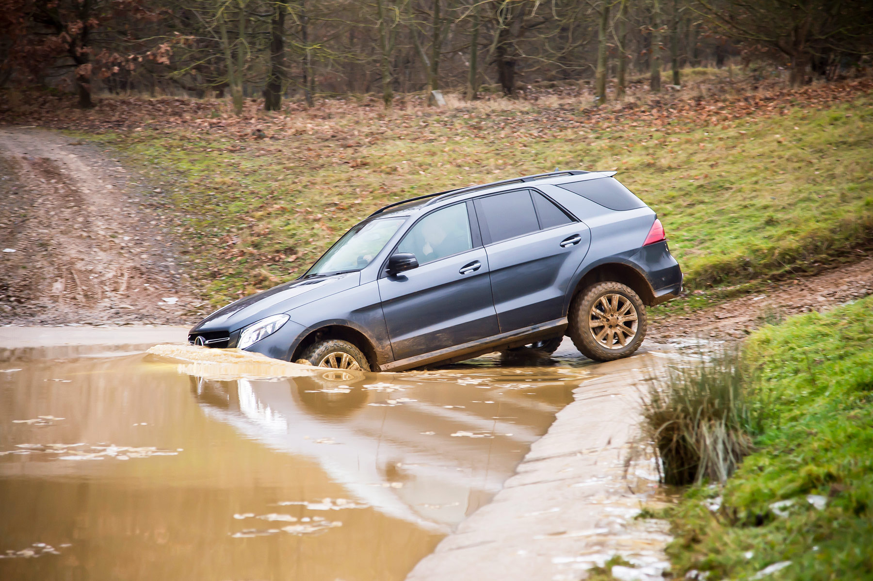 Mercedes-Benz SUV G Class Off-Road Test At Millbrook Proving Ground 3